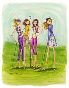 Ladies Golf. This is how you do it! #lorisgolfshoppe