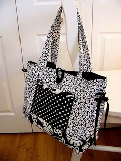 Bow Tuck Bag by Pleasant Home, via Flickr