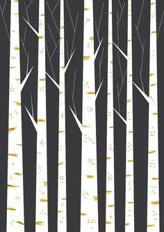Geometric print wall art minimalist art poster by FLATOWL on Etsy