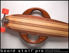 Board Stall Pro with skateboard www.boardstall.com
