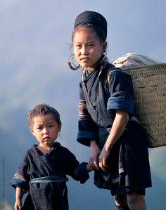 Children of Vietnam Hugh Sitton for Stocksy United Vietnam, Ethnic, The Unit, Stock Photos, Collections, Children, Face, Boys, Kids