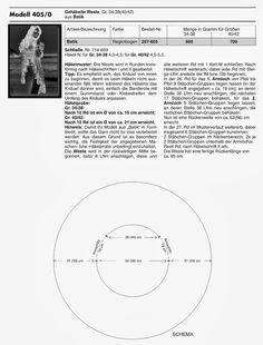 CARAMELO DE CROCHET: chaleco