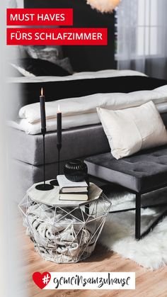 Shop the Look - Cosy Grey Cosy, Table, Furniture, Home Decor, Bedroom Ideas, Decorating Ideas, Ad Home, Decorations, Homemade Home Decor