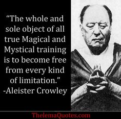 Here is Aleister Crowley Quotes for you. Aleister Crowley Quotes the supreme satisfaction is to be able to despise ones. Wiccan, Magick, Witchcraft, Aleister Crowley, Be Yourself Quotes, The Book, The Magicians, Philosophy, Me Quotes