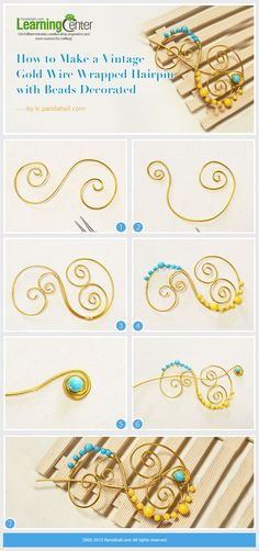 Wire Wrapped Hairpin