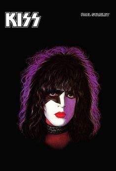 Coleccionables de banda KISS *** KISS Paul Stanley álbum solista contador superior Display Stand-up *** regalo Idea beso beso coleccionables recuerdos Retro