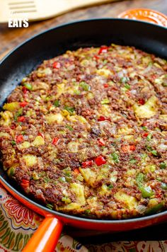 Low Syn Corned Beef Hash - an easy family friendly recipe perfect for breakfast,. - Low Syn Corned Beef Hash – an easy family friendly recipe perfect for breakfast, lunch or dinner. Canned Corned Beef Recipe, Corned Beef Recipes, Minced Beef Recipes Easy, Canned Meat, Canned Chicken, Healthy Dinner Recipes, Diet Recipes, Breakfast Recipes, Simple