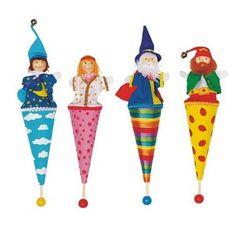 Holzpuppen Nesting Dolls Waldtiere Holzspielzeugfiguren 5 Stuck