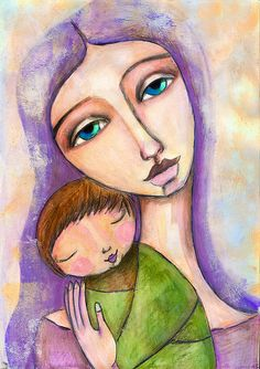mother & child by willowing - willowinglove.blogspost.com