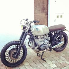 BMW caferacer by Nomade Cycles