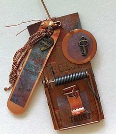 Altered Mousetrap with Copper  via Flickr
