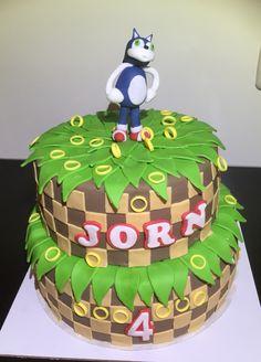 Mario Sonic taart, juni 2015