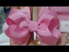 "Diy - Big Laçarote ""Carinha de Anjo"" - Pap - Make to hair bow - YouTube"