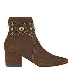 Cailyn Bootie. Gorgeous. Comes in Olive Suede, Gray Suede, and Black Leather. $395.00 @ SigersonMorrison.com, 10/2/16