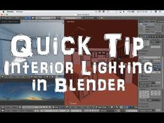 Here is a quick tip for lighting an interior scene in Cycles. Cheers!