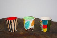 Coffee, tea, mate? Beautiful cups!