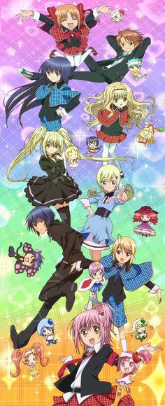 This is amazing Shugo Chara, Anime Art, Manga Anime, Anime Rules, Maid Sama, Mermaid Melody, Tokyo Mew Mew, Anime Group, Gekkan Shoujo