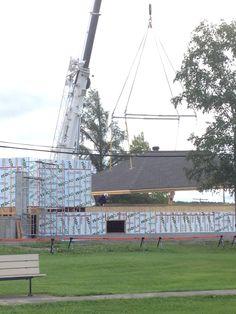 Bibliothèque municipale Macamic, Abitibi-Témiscamingue Wood Construction