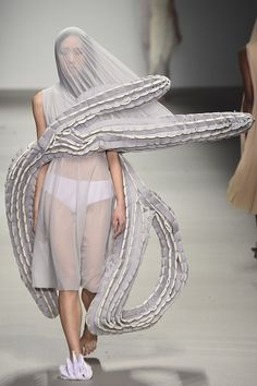 See the Central Saint Martins MA autumn/winter 2015 show