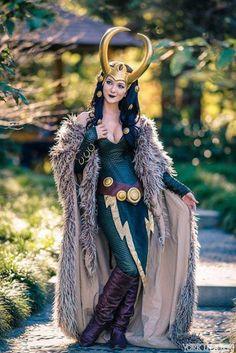 Une belle incarnation de Loki, que j'appréciais beaucoup sous ses formes féminines.