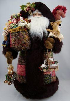 Elegant Country Santa Santa Claus Doll by DianesHeirloomSantas