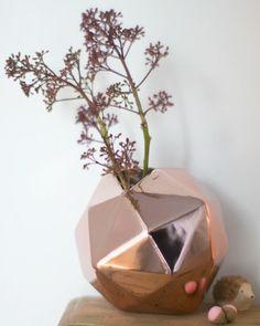 kupfervase wunderschön-gemacht