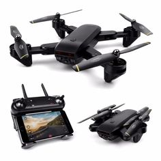 Drone with Camera WIFI FPV Quadcopter with HD Camera Live Video Headless Mode 6 Axis Gyro Foldable RTF RC Drone. Drones, Drone Quadcopter, Buy Drone, Drone With Hd Camera, Foldable Drone, Rc Helicopter, Drone Photography, Wifi, Free Shipping