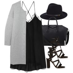 Untitled #2493 by charline-cote on Polyvore featuring Forever 21, T By Alexander Wang, Gianvito Rossi, Givenchy and rag & bone