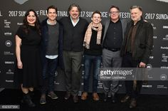 News Photo : Actress Lily Gladstone, Actor Matt Bomer,... PARK CITY, UT - JANUARY 21: (L-R) Actress Lily Gladstone, Actor Matt Bomer, Director Alex Smith, Actor Josh Wiggins, Director Andrew Smith and Actor Bill Pullman attend the 'Walking Out' premiere on day 3 of the 2017 Sundance Film Festival at Library Center Theater on January 21, 2017 in Park City, Utah. (Photo by Michael Loccisano/Getty Images for Sundance Film Festival)