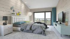 Dormitorio principal con vestidor y cuarto de baño: zona de descanso