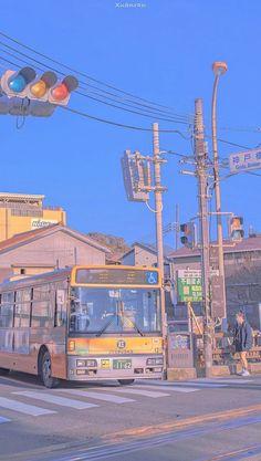 Aesthetic Japan, Japanese Aesthetic, City Aesthetic, Aesthetic Anime, Aesthetic Desktop Wallpaper, Anime Scenery Wallpaper, Aesthetic Backgrounds, Japon Illustration, Kawaii Wallpaper