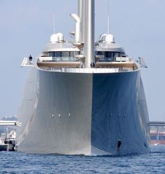 The largest private sailing yacht in the world has reportedly been granted its release from Gibraltar Power Boats, Speed Boats, House Boats For Sale, Big Yachts, Sailing Yachts, Sailboats For Sale, Boat Insurance, Boat Fashion, Private Yacht