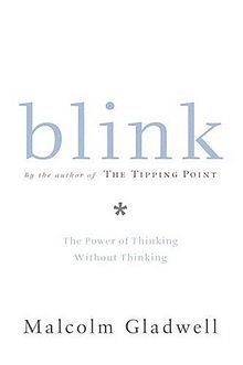 Blink: The Power of Thinking Without Thinking is the second book by Malcolm Gladwell. It presents in popular science format research from psychology and behavioral economics on the adaptive unconscious; mental processes that work rapidly and automatically from relatively little information. It considers both the strengths of the adaptive unconscious, for example in expert judgment, and its pitfalls such as stereotypes. Synopsis from Wikipedia