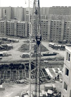Bratislava, Old Photos, Utility Pole, Nostalgia, Retro, Fotografia, Crane Car, Old Pictures, Vintage Photos