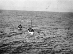 fishing nets and strange floats pictured on the Isle of Man when Charles and Patricia did a show for the Lifeboats
