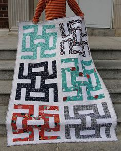 Gender reveal quilt - Japanese Nautical   Flickr - Photo Sharing!