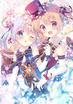 Anime Girl Neko, Anime Child, Anime Art Girl, Touhou Anime, Chibi, Anime Best Friends, Old Anime, Anime Angel, Cute Anime Character
