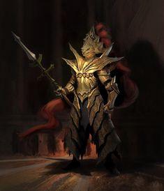 Character Modeling, Character Portraits, Character Art, Character Design, Dragon Slayer Armor, Ornstein Dark Souls, Sif Dark Souls, Dark Souls Characters, 1440x2560 Wallpaper