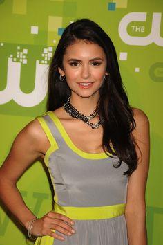 Nina Dobrev - makeup | The CW Network's Upfront | May 19, 2011