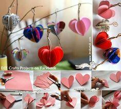 Kleine Herzen zum Valentinstag,  Weihnachten oder Ostern