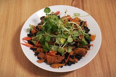Lyntons sweet potato salad add 2 tsp coriander and cumin to the seasoning mix.