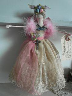 handmade Easter fairy doll