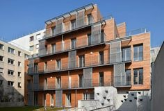 CLT_Apartment 목조 건축 건물