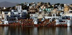 The singular gathering of a different kind at Pushkar..