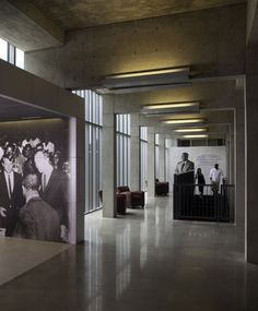 WAN INTERIORS Museums, Bennie G. Thompson Academic & Civil Rights Research Center
