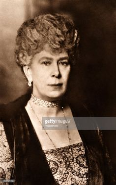 Queen Mary of Teck, wife of King George V, circa 1920. (Photo by Popperfoto/Getty Images)