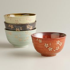 Capture the spirit of sleek and simple Asian design with our Zen-inspired bowls. >> #WorldMarket Lunar New Year