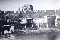 Κτήρια έξω από τα τείχη.Κατεδάφιση 1930