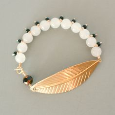 The Leaf Bead Bracelet