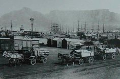 V&A Waterfront in 1900's, cape town, south africa